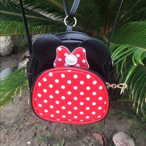 Minnie mouse small child backpack